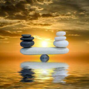 Balans tussen geven en krijgen
