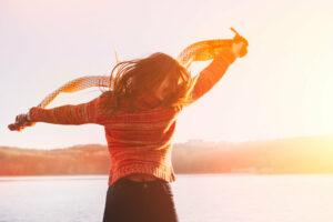 Om gelukkig te zijn moet je de kracht vinden