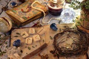 Wicca en tarot